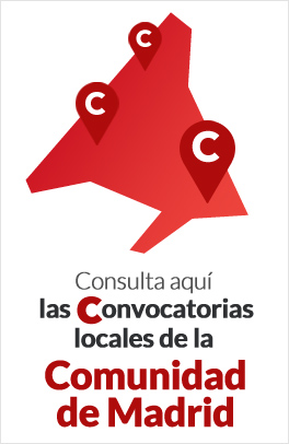 Consulta aquí las convocatoria locales de la Comunidad de Madrid