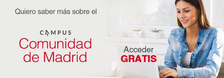 Accede GRATIS al Campus Comunidad de Madrid
